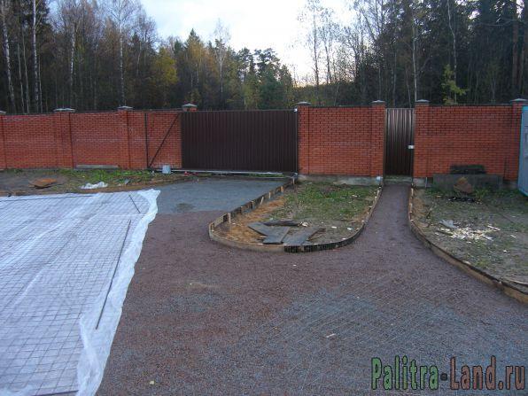 Ландшафтный дизайн дачного и загородного участка в Санкт