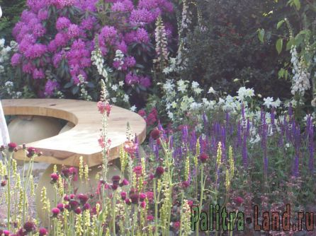 Дизайн вашего сада варианты готовых